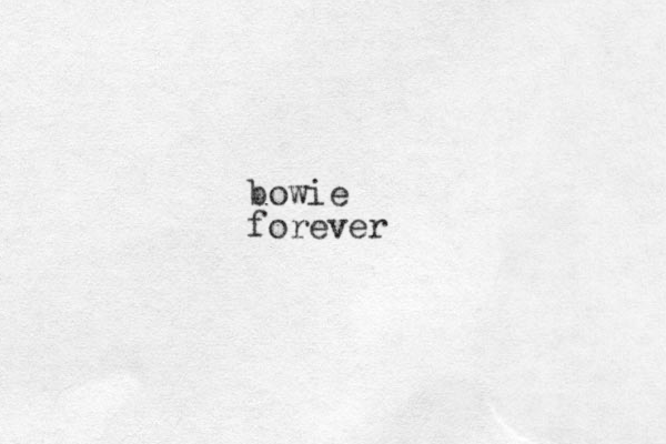 bowie forever