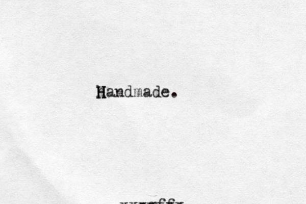 h Handmade. H H cgff xxxxxxx