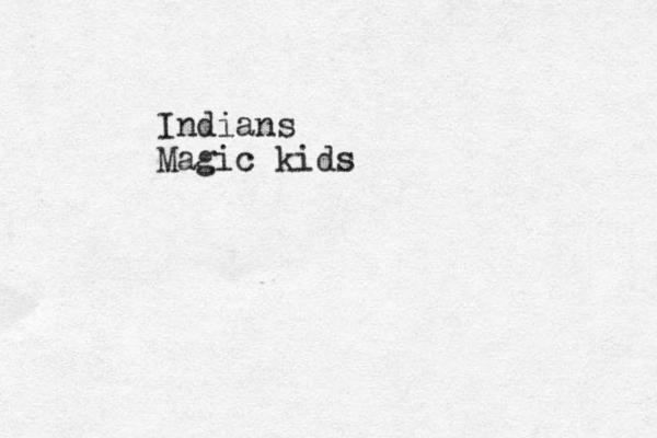 Indians Magic kids