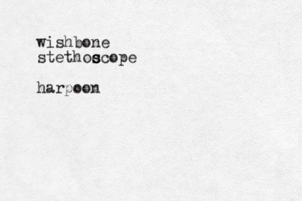 wishbone stethoc s scope harpoon