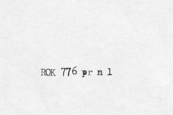 ROK 776 pr n l