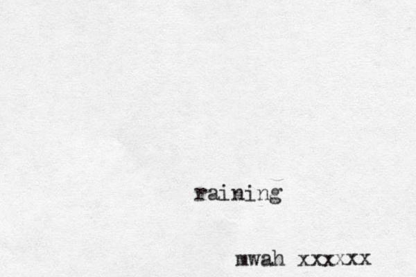 mwah xxx raining xxx