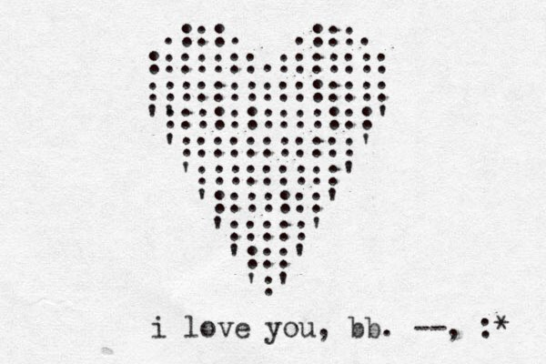.:::. .:::. :::::::.::::::: ::::::::::::::: ' ':::::::::::::' ':::::::::::' ':::::::::' ':::::::' ':::::' ':::' ':' i love you, bb . --, :*