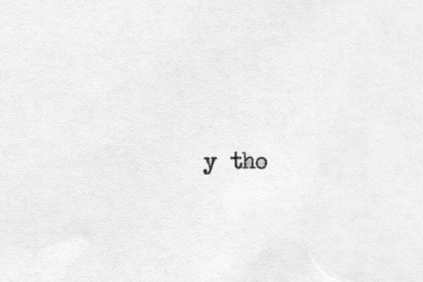 y tho