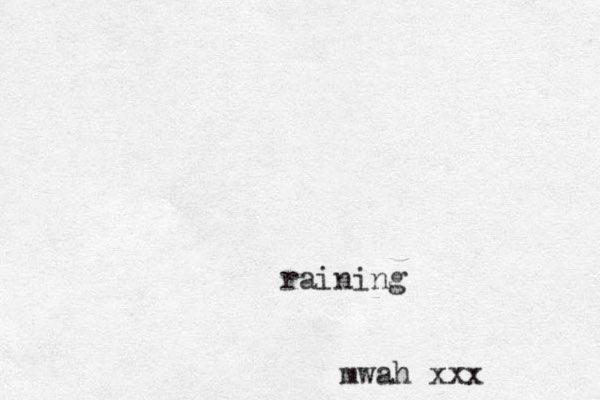 mwah xxx raining